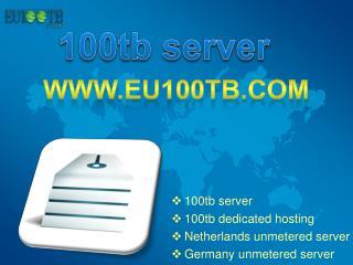 Germany unmetered server