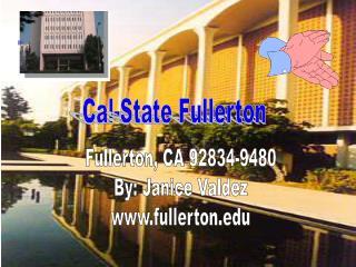 Cal-State Fullerton