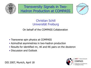 Transversity Signals in Two-Hadron Production at COMPASS