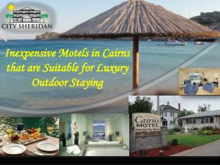 Inexpensive Motels in Cairns