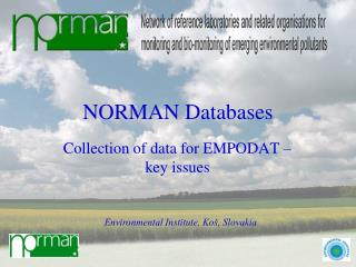 NORMAN Databases