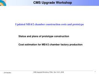 CMS Upgrade Workshop