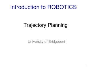 Trajectory Planning
