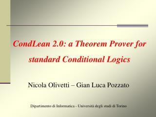 Dipartimento di Informatica - Università degli studi di Torino