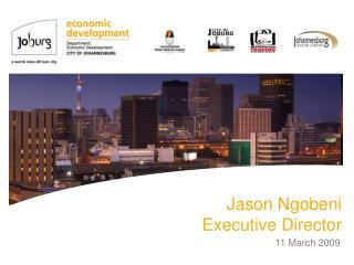 Jason Ngobeni Executive Director