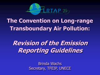 The Convention on Long-range Transboundary Air Pollution: