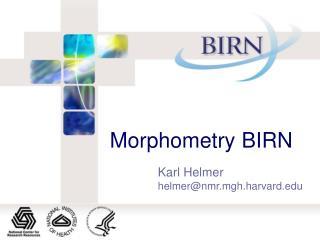 Morphometry BIRN