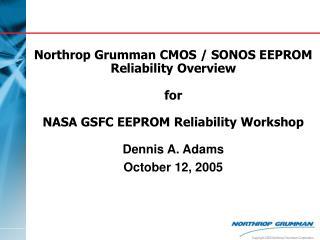 Dennis A. Adams October 12, 2005