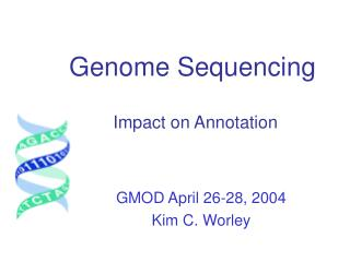 Genome Sequencing Impact on Annotation