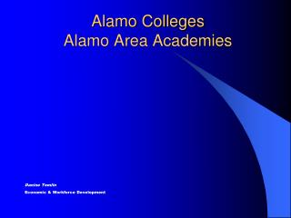 Alamo Colleges Alamo Area Academies