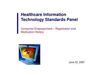Healthcare Information Technology Standards Panel