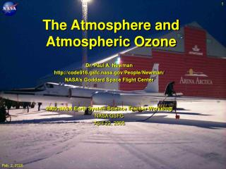 The Atmosphere and Atmospheric Ozone