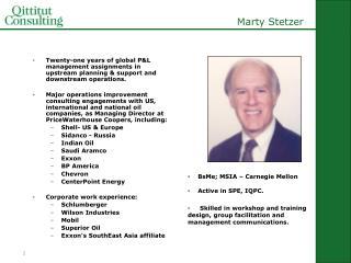 Marty Stetzer