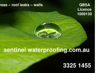 sentinel waterproofing.au
