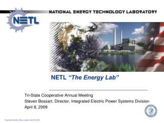 "NETL  ""The Energy Lab"""