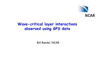 Wave-critical layer interactions observed using GPS data