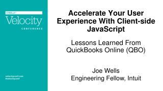 Joe Wells Engineering Fellow, Intuit