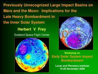 Herbert  V  Frey Goddard Space Flight Center