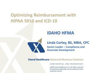 Optimizing Reimbursement with HIPAA 5010 and ICD-10