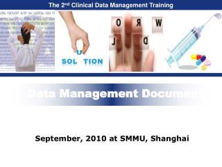 Data Management Documents