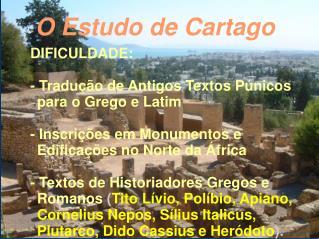 O Estudo de Cartago
