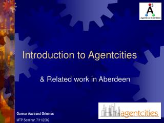 Introduction to Agentcities