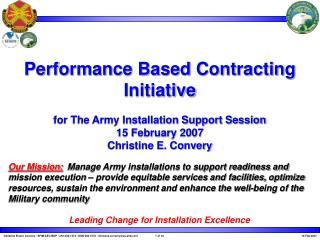 Army Pest Management Contracting