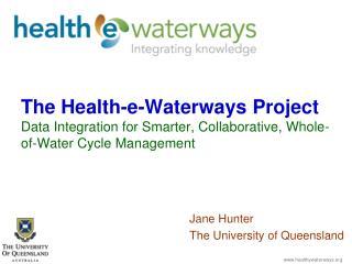 Jane Hunter The University of Queensland