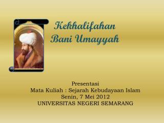 Kekhalifahan Bani Umayyah