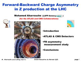 Forward-Backward Charge Asymmetry in Z  production at the LHC