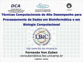 Fernando Von Zuben vonzuben@dca.fee.unicamp.br