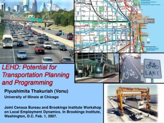 LEHD: Potential for Transportation Planning and Programming