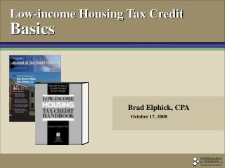 Low-income Housing Tax Credit Basics