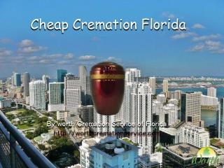 Cheap Cremation Florida
