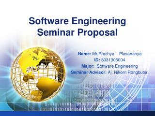 Software Engineering Seminar Proposal