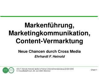 Markenf hrung, Marketingkommunikation, Content-Vermarktung