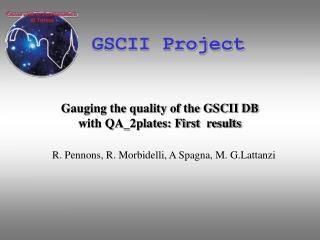 GSCII Project