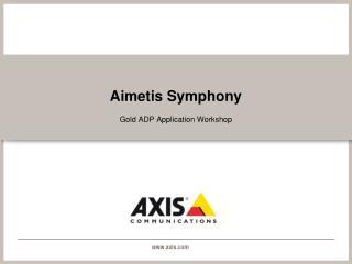 Aimetis Symphony