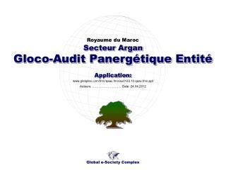 Gloco-Audit Panergétique Entité