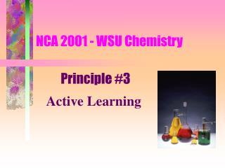 NCA 2001 - WSU Chemistry
