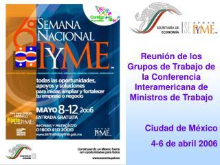 Reunión de los Grupos de Trabajo de la Conferencia Interamericana de Ministros de Trabajo