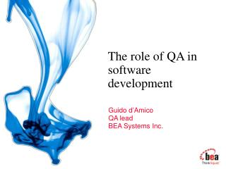 The role of QA in software development
