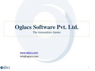 Oglacs Software Pvt. Ltd. The Innovation Genes