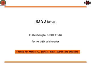 SSD Status