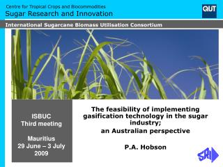 ISBUC Third meeting Mauritius 29 June – 3 July 2009