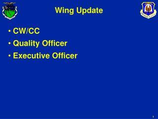Wing Update
