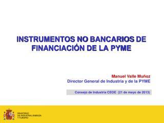 INSTRUMENTOS  NO  BANCARIOS  DE  FINANCIACIÓN DE LA PYME