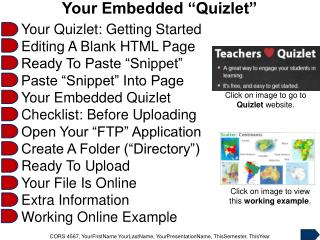 "Your Embedded ""Quizlet"""