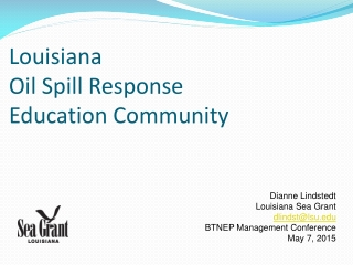 Economic Impact of the Gulf Oil Spill