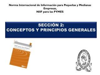 Sección 2: CONCEPTOS Y PRINCIPIOS GENERALES